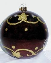 Balocco di Natale gigante a sfera