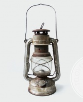 Lanterna a petrolio vintage