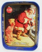 Vassoio CocaCola merry Christmas