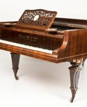 Pianoforte a coda Heitzmann & Sohn