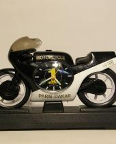 Modellino moto Paris-Dakar