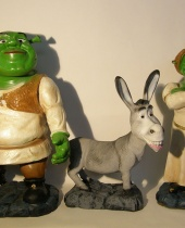 Shrek Fiona e Ciuchino