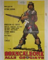 """Manifesto locandina cinematografica """"Brancaleone alle crociate"""""""