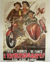 "Manifesto locandina cinematografica ""I Tartassati"""
