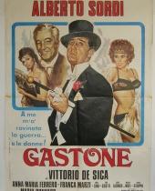 "Manifesto locandina cinematografica ""Gastone"""