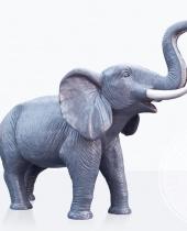 Elefante grande in vetroresina