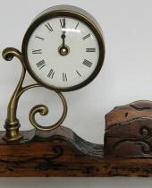 Orologio con portalettere