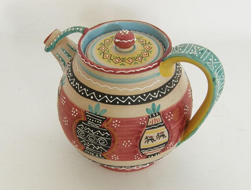 Teiera in ceramica Volpi Deruta - TELOVENDOIO
