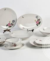 Servizio da tavola per 12 Ospiti in finissima porcellana Bavaria