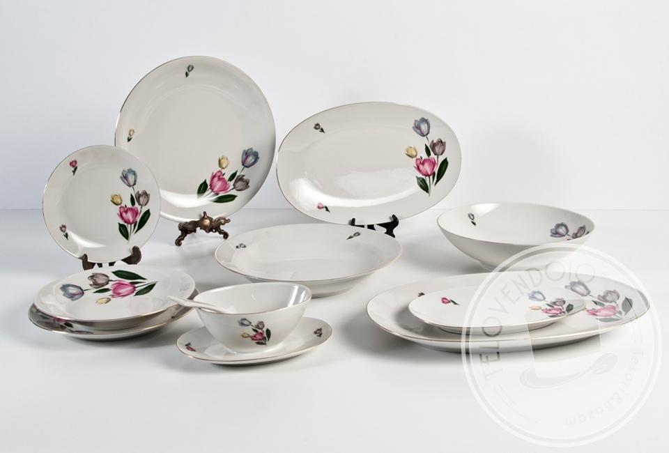 Speciale moda donna primavera estate servizio tavola porcellana - Pesci comuni in tavola ...