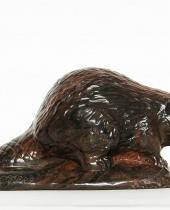 Marmotta in resina pesante