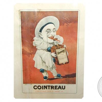 Advertising Pubblicitario vintage 'COINTREAU'  1889