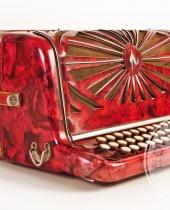 Fisarmonica rossa Maugein