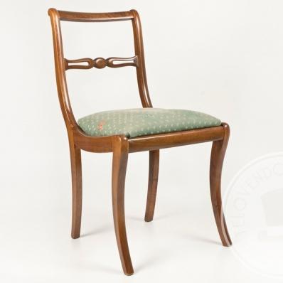 Sedie in tessuto verde - TELOVENDOIO