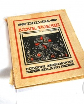 Libro antico Nove poesie Trilussa