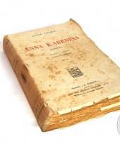 Libro antico 'Anna Karenina' Leone Tolstoj