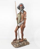 Aborigeno alto 2 metri