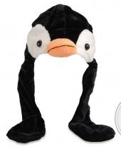 Cappello in Peluche Pinguino