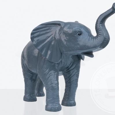 Elefantino in vetroresina