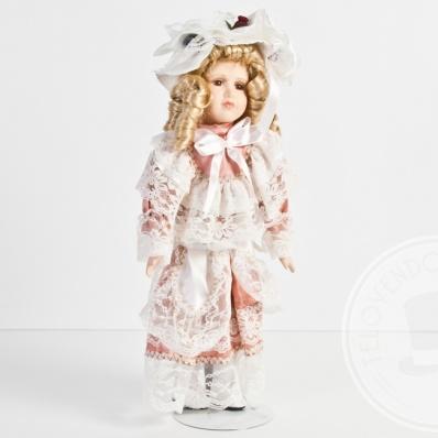 Bambola in porcellana Capodimonte