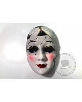 Maschera Dama con veletta in ceramica