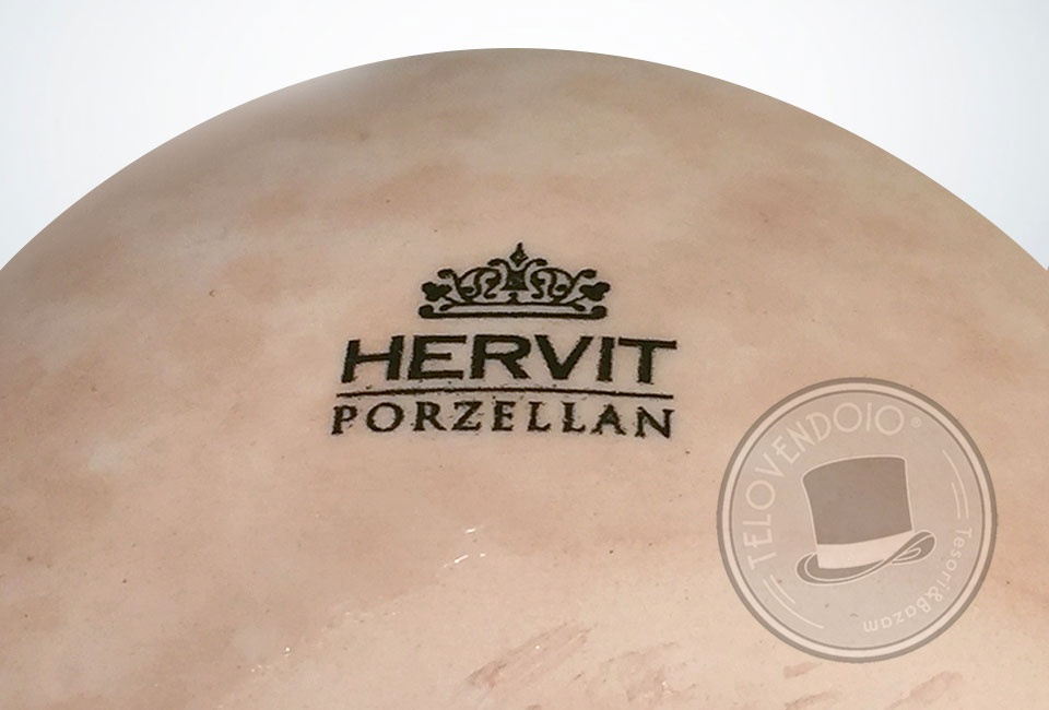 Addobbi Natalizi Hervit.Uovo In Porcellana Hervit