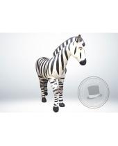 Zebra in vetroresina