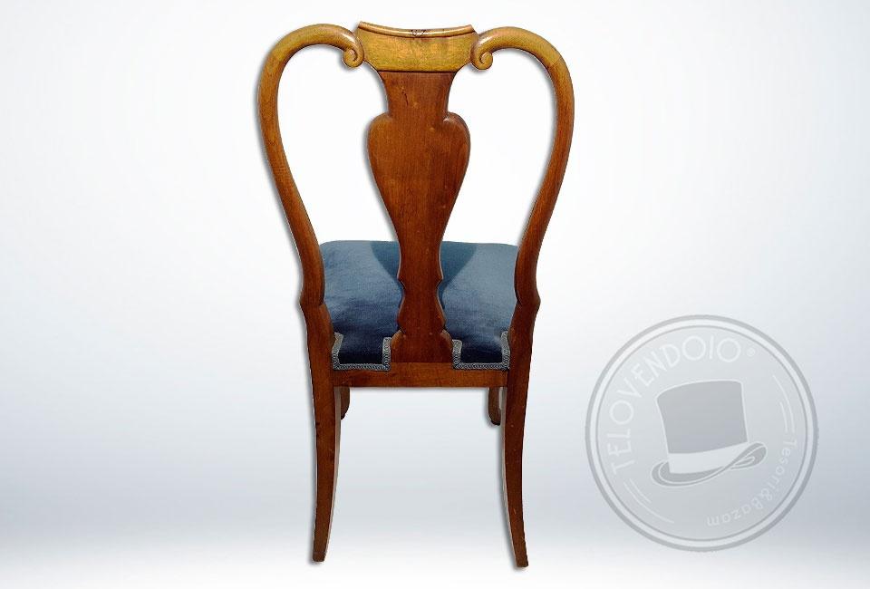 Sedie Stile Chippendale : Sedia in stile chippendale telovendoio