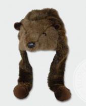 Cappello in Peluche Lontra