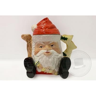 Teiera Babbo Natale Staffordshire ceramics