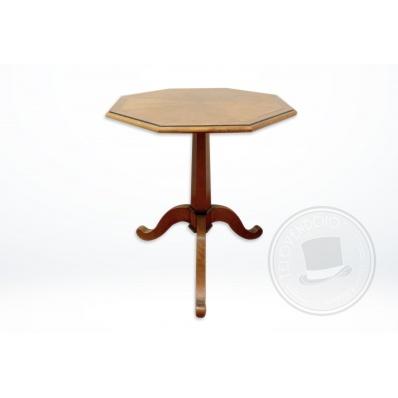Tavolino Grange ottagonale in legno