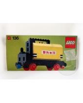 LEGO 136 Carro Cisterna Shell