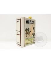 Bottiglia Whisky in ceramica Le Bertetti Torino