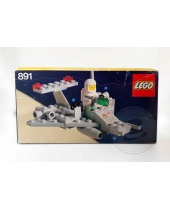 LEGO 891 Two-Man Scooter Space