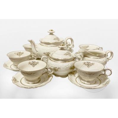 Servizio da tè in porcellana Bavaria Schumann