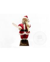 Babbo Natale con pergamena 60 cm