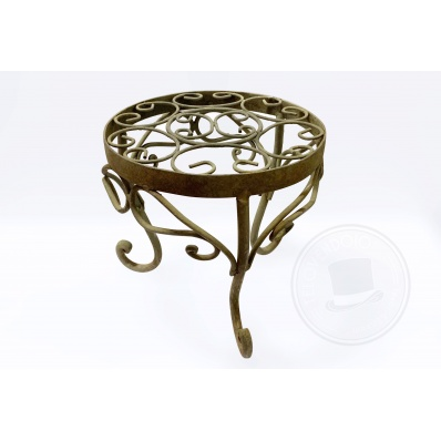Tavolino in ferro battuto 20 cm