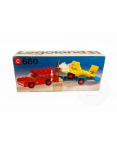LEGO 660 Car with Plane Transporter