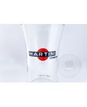 Coppia di bicchieri Martini Vermouth