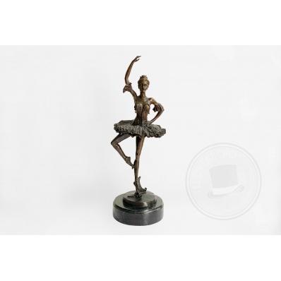 Ballerina in bronzo firmata