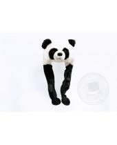 Cappello in Peluche Panda