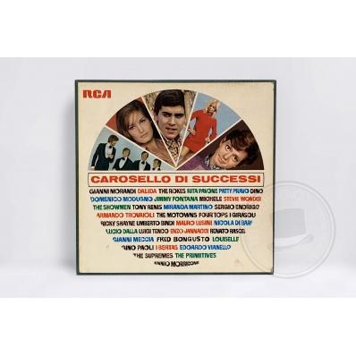 Cofanetto Carosello di Successi 10 Dischi Vinile 33 giri RCA