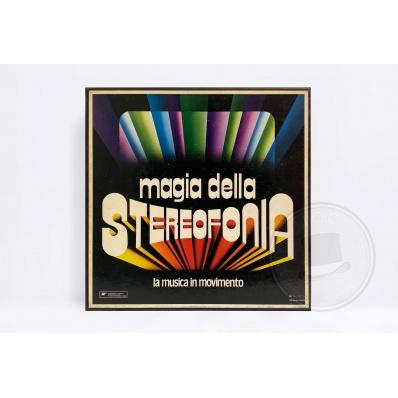 Cofanetto Magia della Stereofonia La Musica in Movimento 9 Dischi Vinile 33 giri