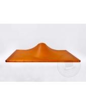 Mensola Con&Con arancione Pelican Fabio Casiraghi Studio Nava