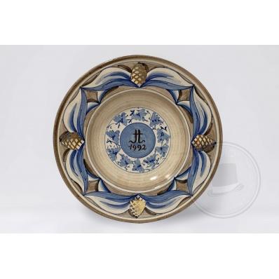 Piatto da collezione Ceramica Kamares 1992
