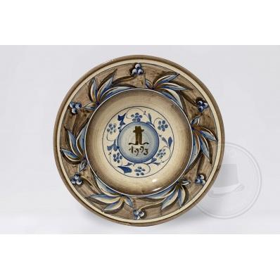 Piatto da collezione Ceramica Kamares 1993