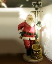 Babbo Natale lampione