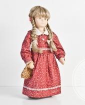 Bambola bambina in stoffa