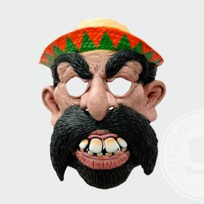 Maschera da bandito messicano