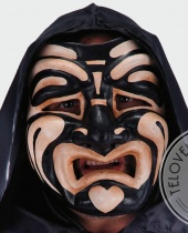 Maschera da tragedia greca